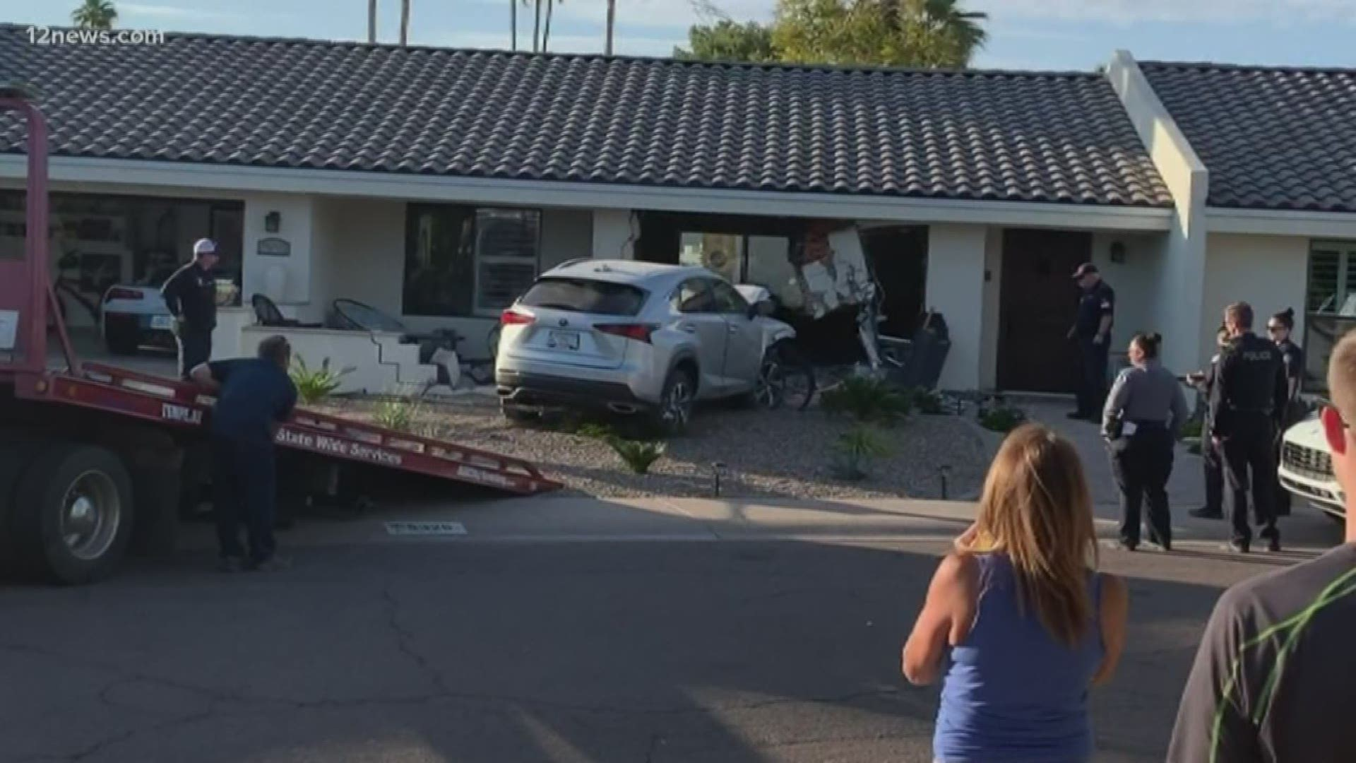 Scottsdale Couple Recovering After Suv Tears Through Living Room 12news Com