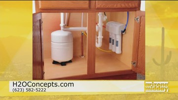 Clean water at home with H2O Concepts