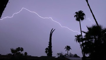 Lightning strikes spark multiple house fires as storms move through the Valley