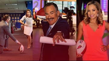 12 News hiding 3 special #Cardinals100 footballs Wednesday
