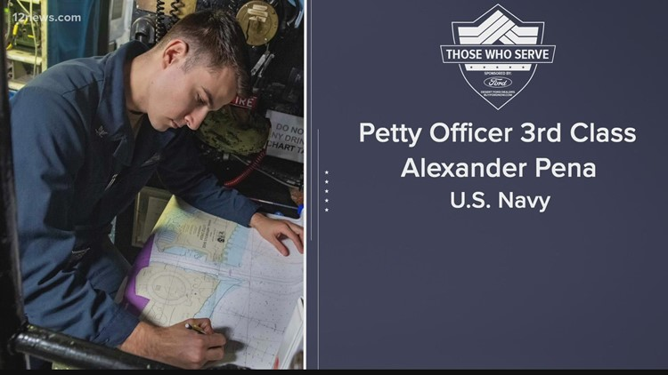 Those Who Serve: Petty Officer 3rd Class Alexander Pena