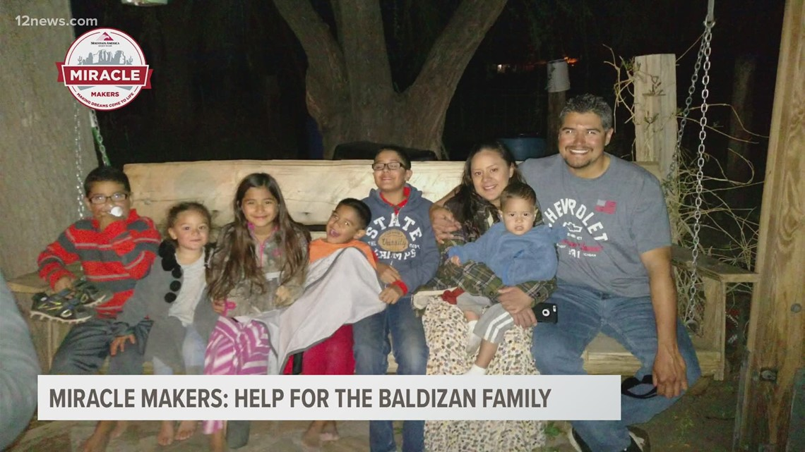 Miracle Makers: Family of nine gets help after having trouble with AC unit