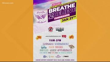 'Breathe 2 Believe' fundraiser supporting Arizona cancer community