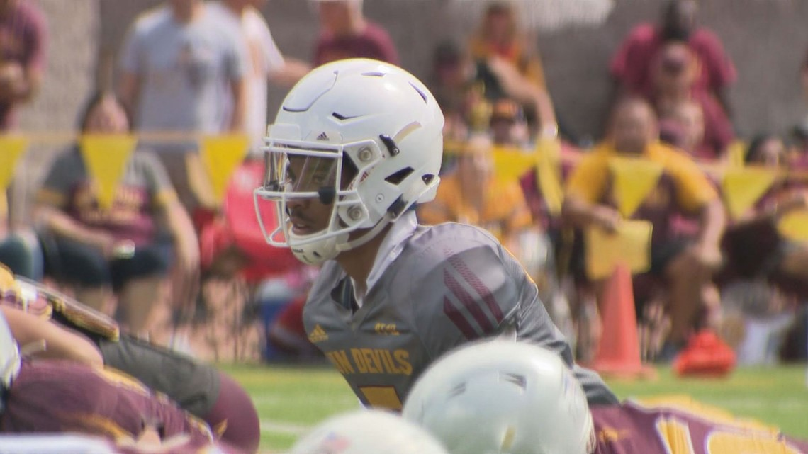 Freshman Jayden Daniels named ASU starting quarterback