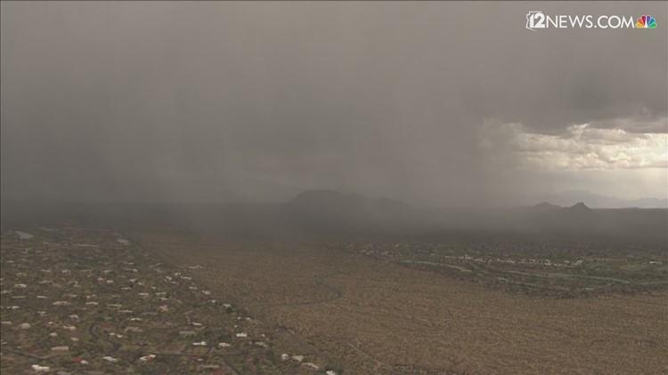 No ha llovido en Phoenix esta temporada de monzón ¿es esto raro para el Valle?