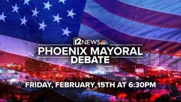 12 News le trae el debate de los candidatos a la alcaldía de Phoenix