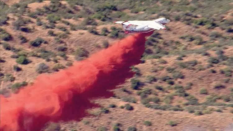 Mountain Fire DC-10