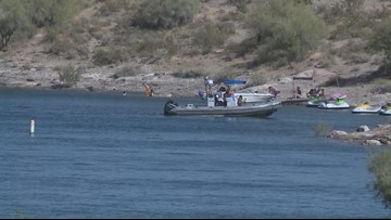 Dive team to search for man who reportedly fell off jet ski in Lake Pleasant