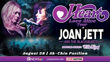 12 NEWS HEART & JOAN JETT SWEEPSTAKES