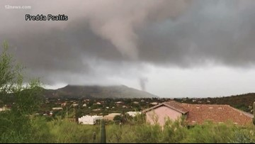 National Weather Service confirms 2 tornados touched down in Arizona Monday
