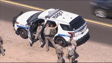 Suspect caught in desert after fleeing crash following police pursuit in Chandler