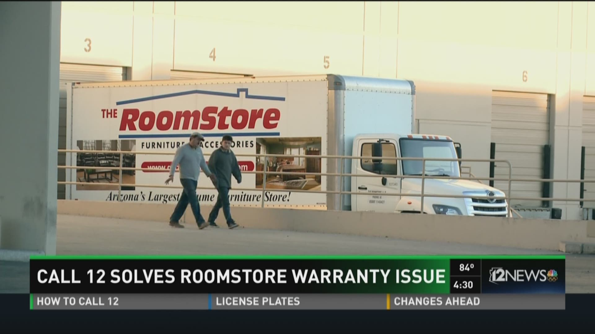 Call 12 Solves Room Warranty Issue