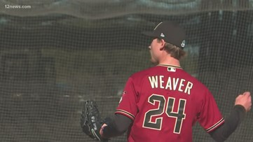 D-backs pitcher Luke  Weaver injury-free, ready to fly