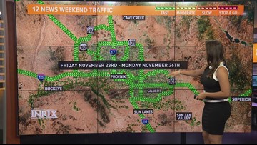 Here's your Thanksgiving holiday weekend traffic outlook