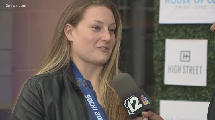 Silver medalist Lyndsey Fry shows up to roast Shane Doan