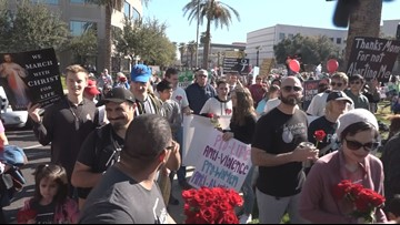 Arizona for Life March and Rally draws thousands to downtown Phoenix