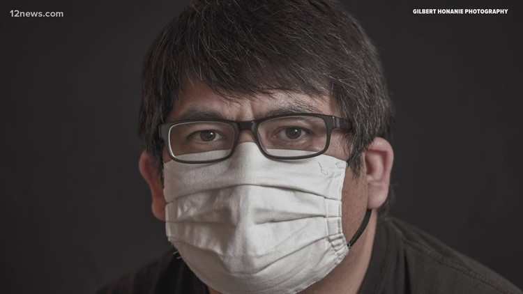 Capturing the Covid-19 pandemic behind the lens of a Hopi photographer