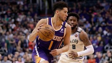 Devin Booker, Ricky Rubio help Suns race past Giannis-less Bucks