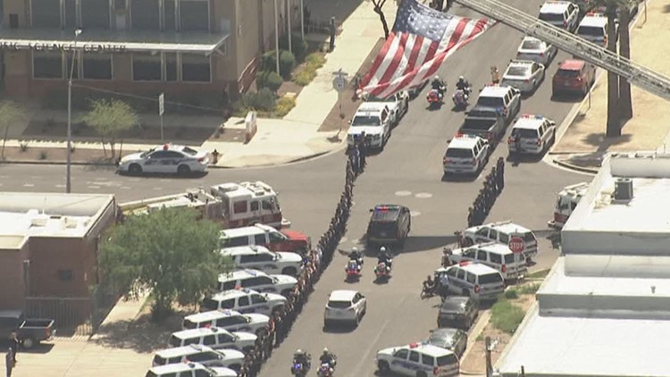 How to help fallen Phoenix police Officer Rutherford's family