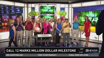 Call 12 marks million dollar milestone