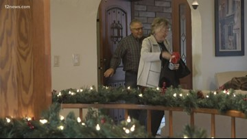 Family spending Christmas at self-built childhood home in Phoenix