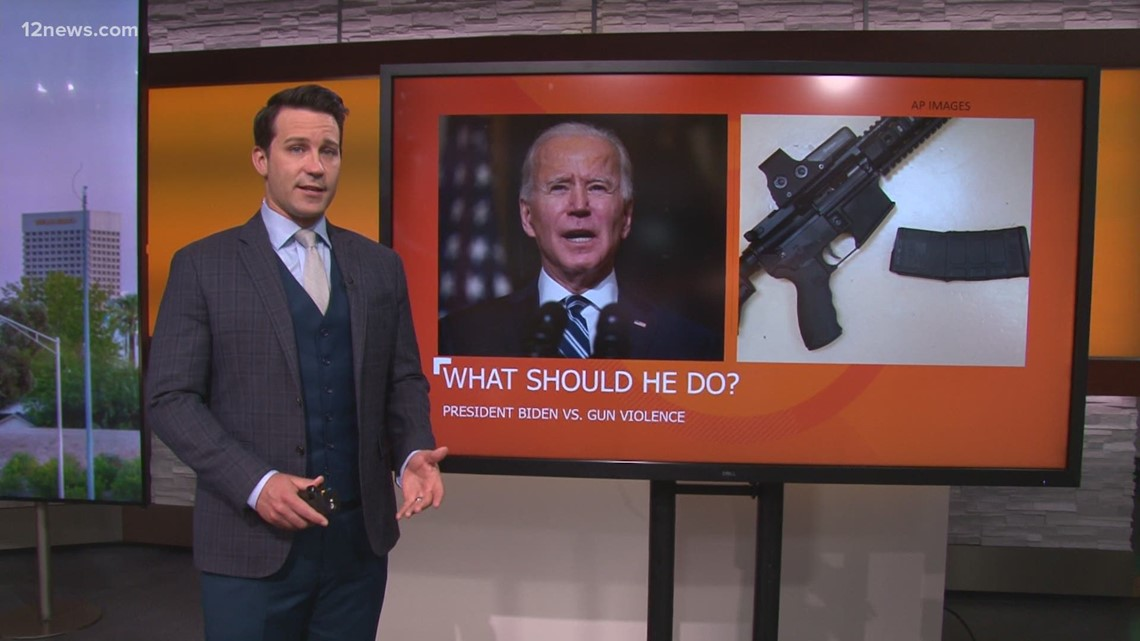 What actions should President Biden and Congress take to stop gun violence?