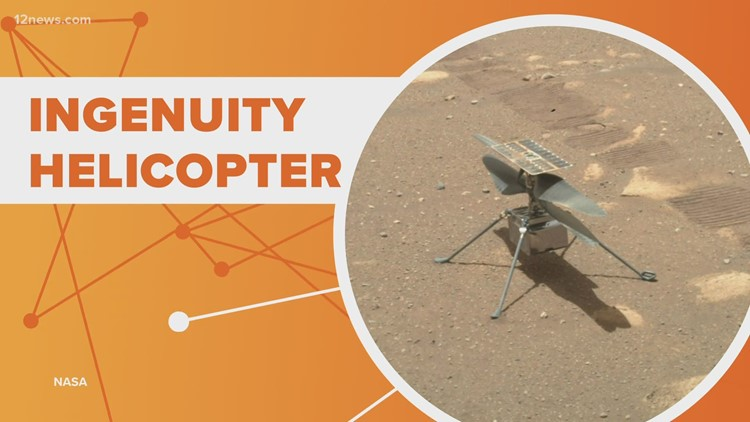 Connect The Dots: NASA mission to fly small helicopter on Mars