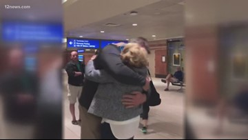 Mother and son find each other after 44 years