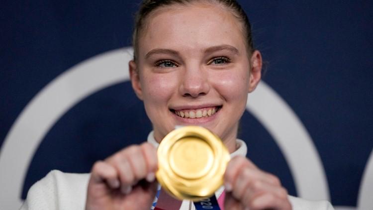 Phoenix gymnast Jade Carey brings home gold after stunning Tokyo Olympics floor performance