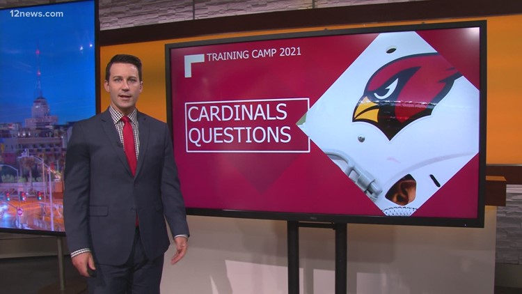 What are the big questions for the Cardinals heading into Training Camp?