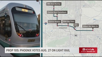 Phoenix's light rail vote threatens to stop the lines in their tracks