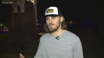 'Mill Avenue Jesus' speaks to 12 News about his now-viral moment caught on camera