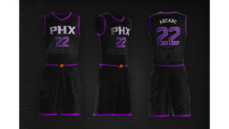 Suns unveil new uniform concept to pay tribute to Mexican fans