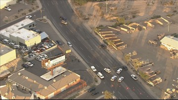 1 dead, 1 critically injured after car hits power pole on Cave Creek Rd
