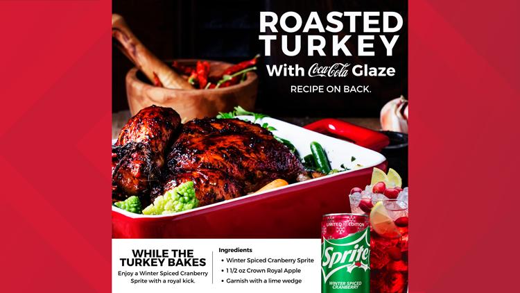 roasted turkey recipe coke sprite