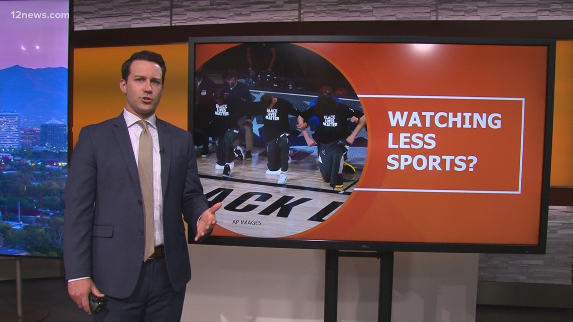 Are you watching more sports during the pandemic?