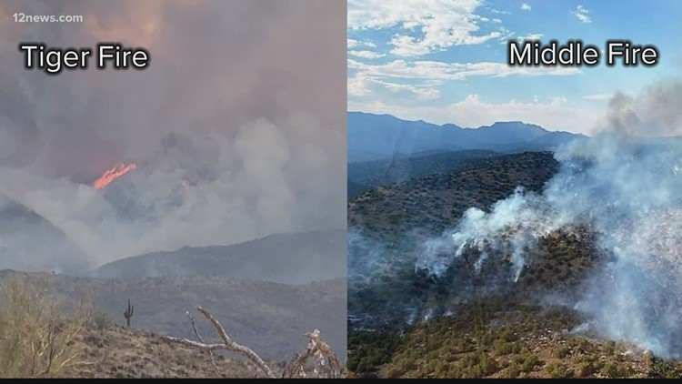 Wildfires in Arizona: Morning update for July 14