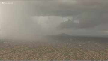 Rain, flooding, strong winds hit Arizona and will linger through Tuesday