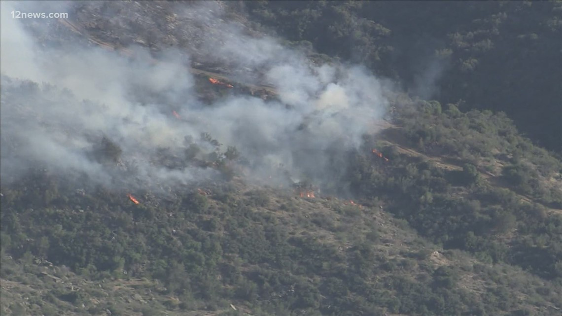 Tussock Fire update for May 13