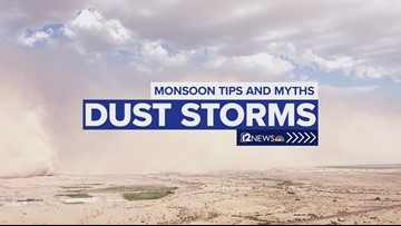 Monsoon Tips and Myths: Dust storm facts