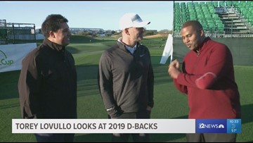 12 Sports Golf Show: D-backs manager Torey Lovullo on 2019