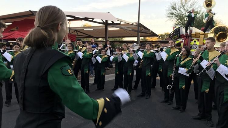 Basha High School band