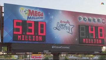 Mega Millions jackpot is $530 million