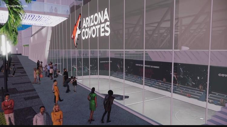 Coyotes unveil $1.7 billion plan for proposed Tempe arena