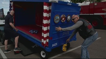 Those Who Serve: Special cart to transport fallen heroes