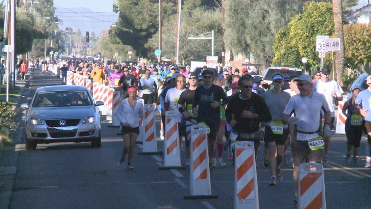 Here are the road closures for the Rock 'n' Roll Marathon