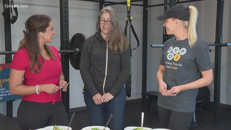 Route 2021: Learn how Olympic athletes meal prep during training in Flagstaff