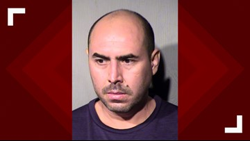 Man arrested after firing at police officer in west Phoenix