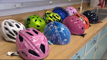 Bike helmet safety ratings