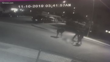 Surveillance video captures violent beat down in Phoenix